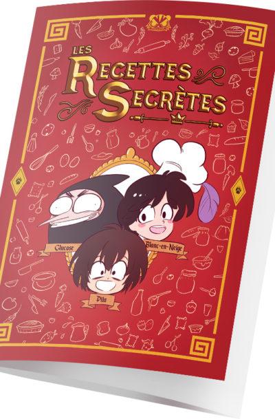 Dépliant recettes secrètes