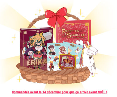 PACK COMPLET – Erika Tome 1