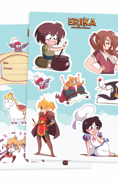 Planches de stickers x2