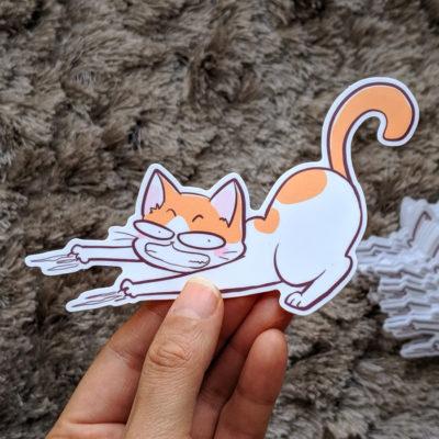 Sticker – Yemi fait ses griffes